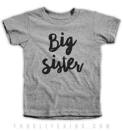 Big Sister Kids Tees