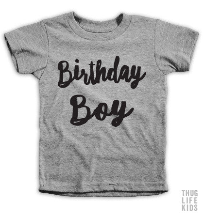 Birthday Boy Kids Tees