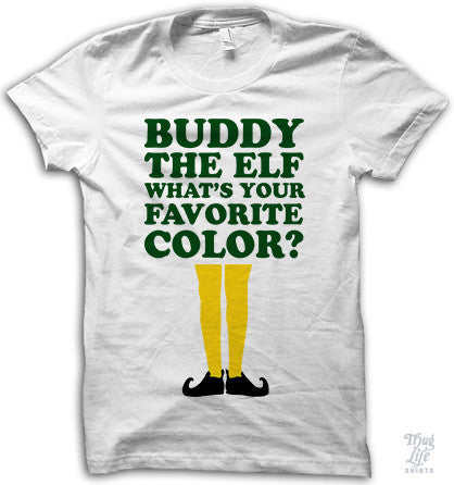 Buddy The Elf Adult Shirt
