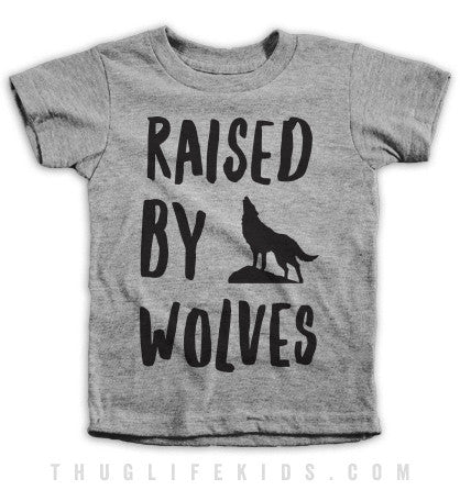 Raised By Wolves Kids Tees
