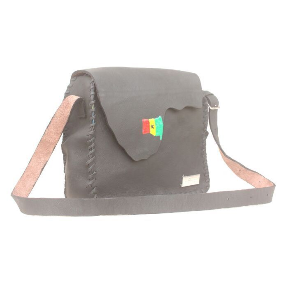 Black Omanba Satchel Bag