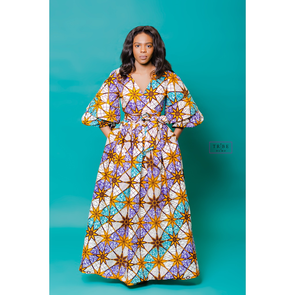 Nzinga Dress - Star