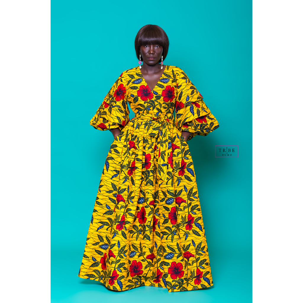 Nzinga Dress - Flower