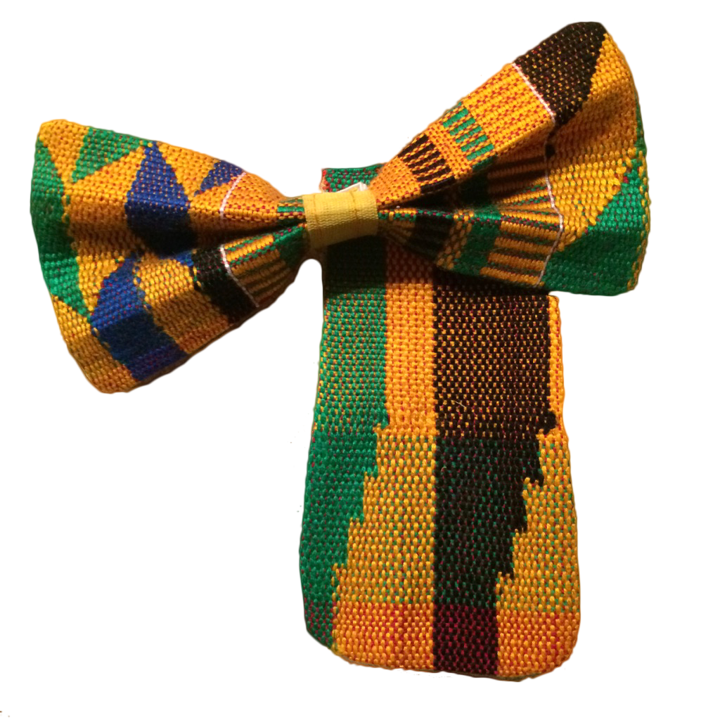 Nkrumah Bowtie and Pocket Square