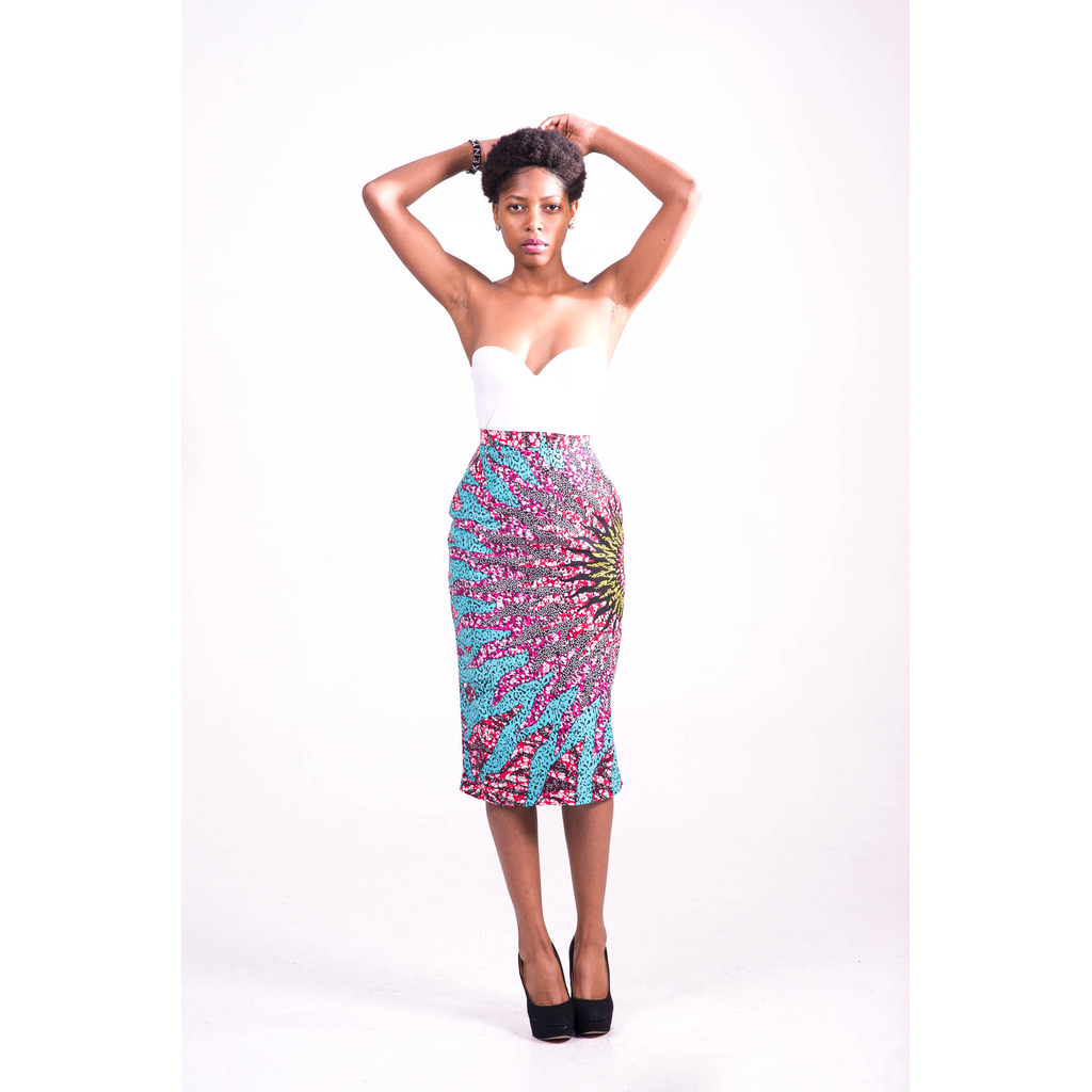 Kenny Midi Pencil Skirt
