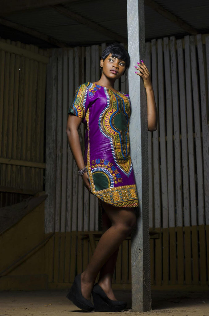 Angelina Dashiki Dress
