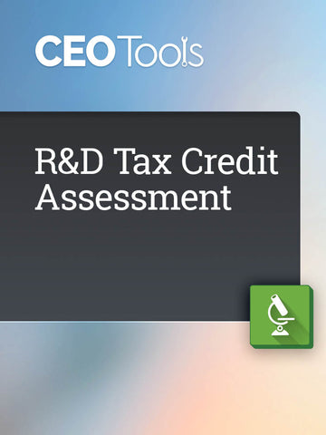 R&D Tax Credit Assessment