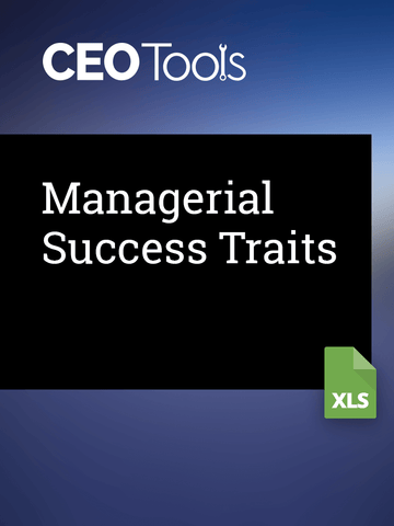 Managerial Success Traits