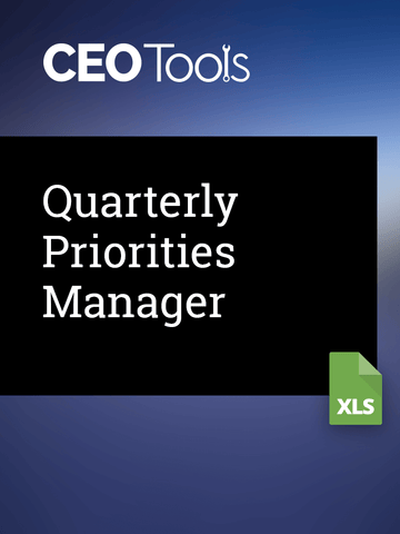 Quarterly Priorities Manager