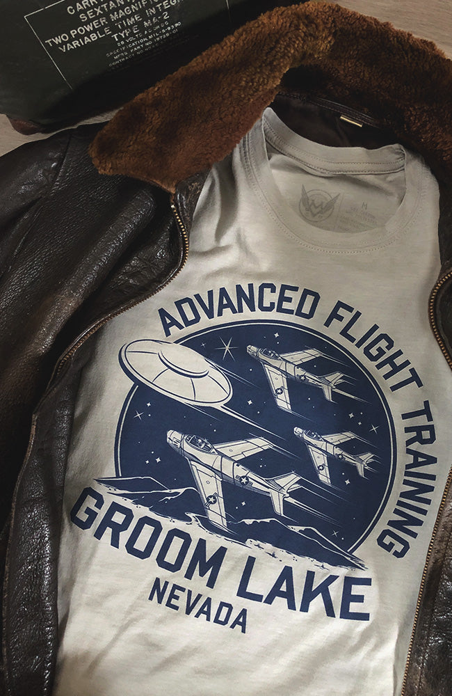 Groom Lake - Advanced Flight Training Unisex Tee