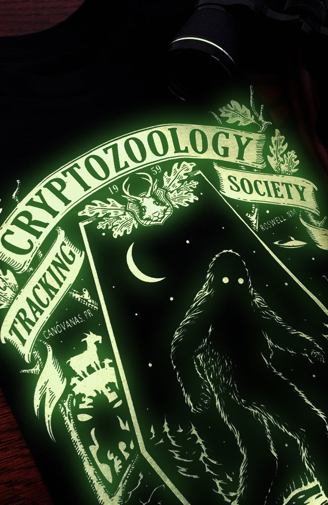Cryptozoology Tracking Society Womens Tee