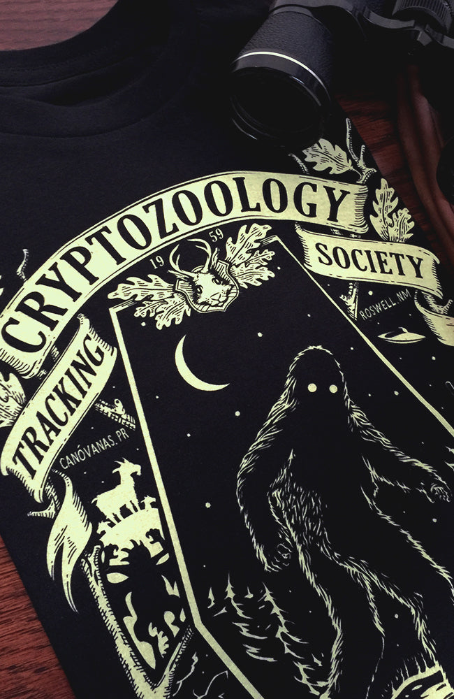 Unisex Cryptozoology Tracking Society Pullover