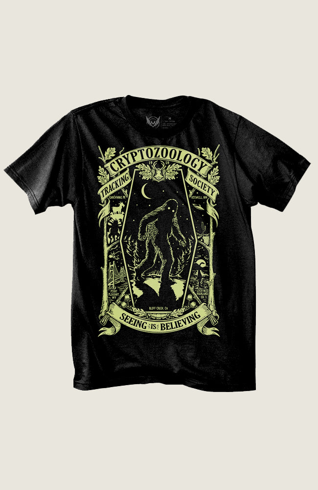 Cryptozoology Tracking Society Tee