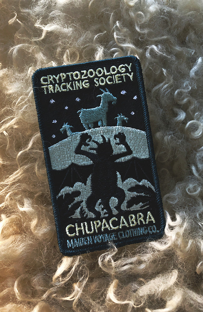 Chupacabra Patch - Cryptozoology Tracking Society