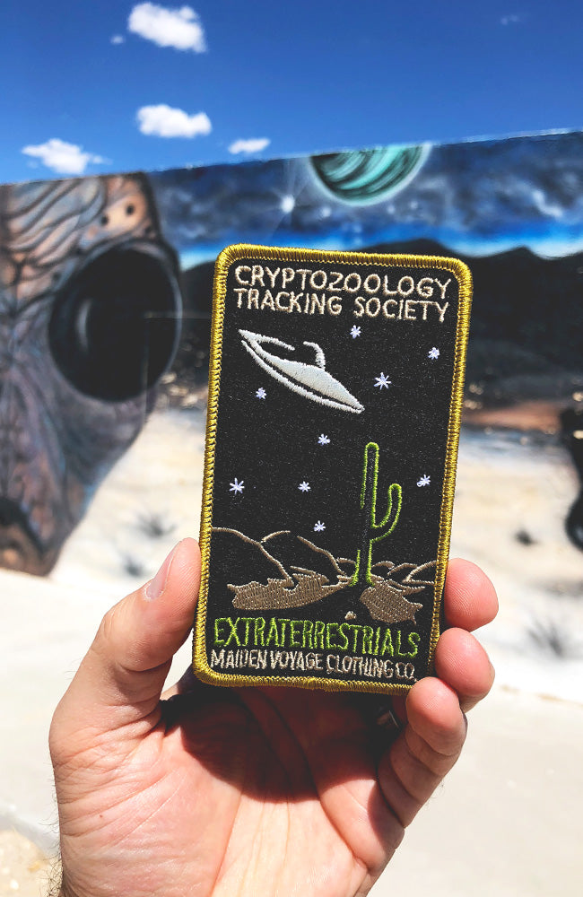 Cryptid PSA Patch - Cryptozoology Tracking Society