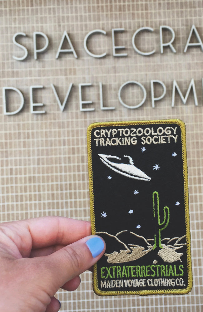 Extraterrestrials Patch - Cryptozoology Tracking Society