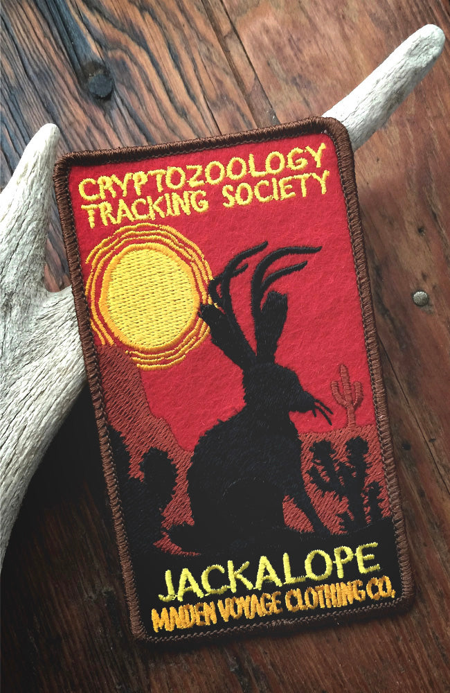 Jackalope Patch - Cryptozoology Tracking Society