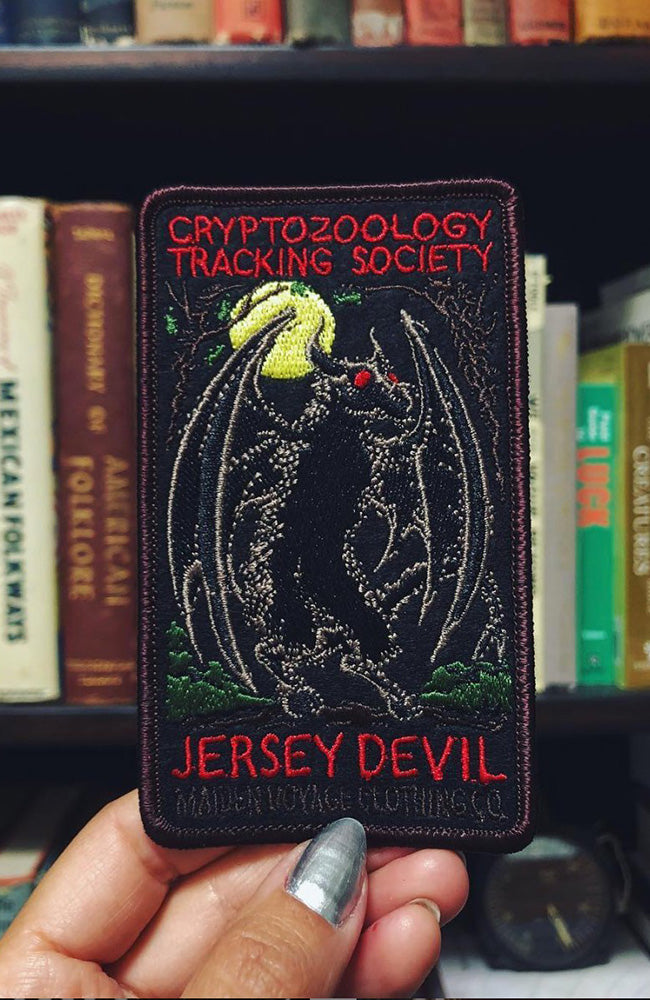 Jersey Devil Patch - Cryptozoology Tracking Society