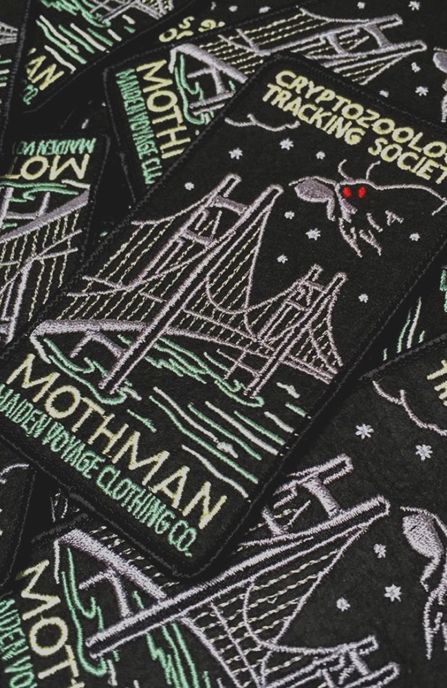 Mothman Patch (Bridge) - Cryptozoology Tracking Society