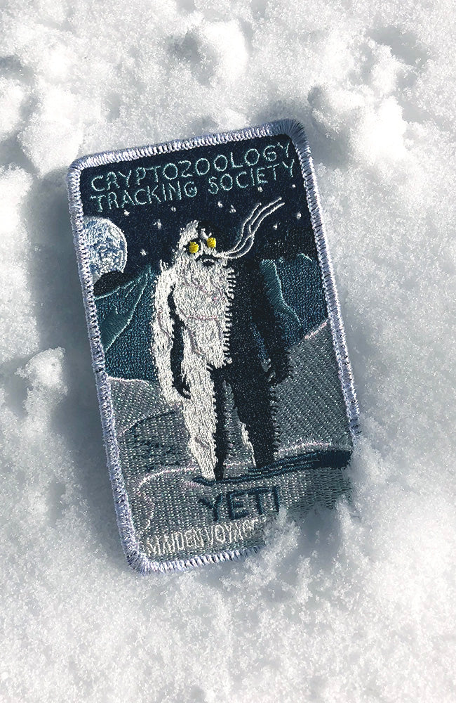 Friends of Cryptid Wildlife Patch - Cryptozoology Tracking Society Glow in the Dark