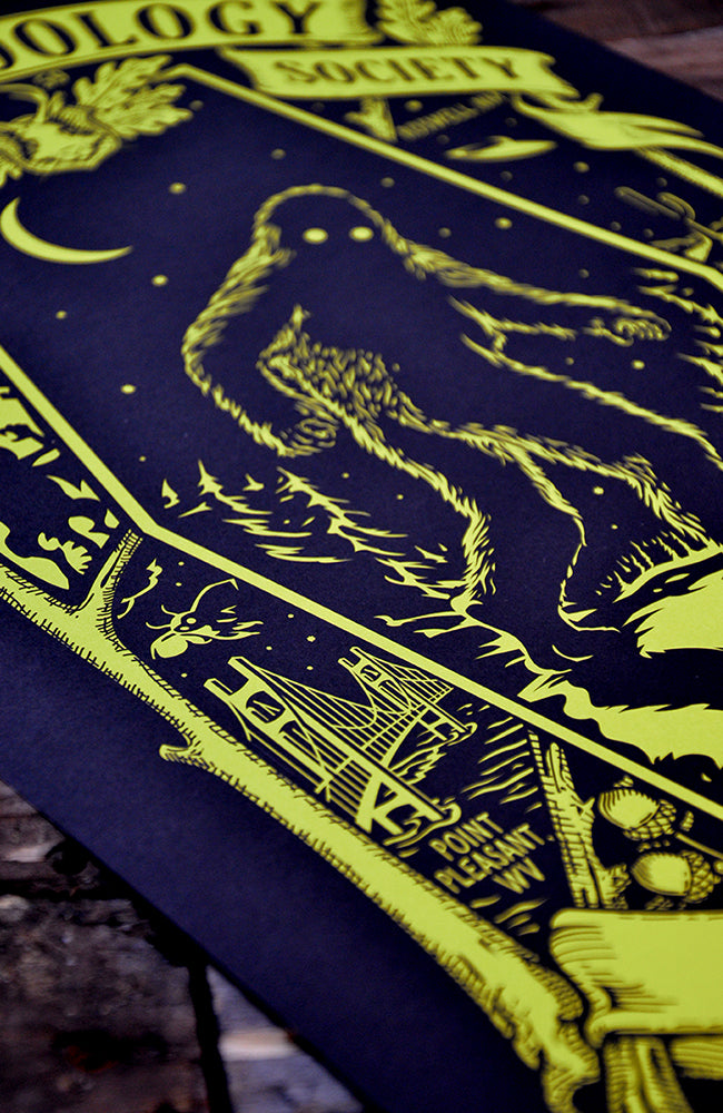 Cryptozoology - Glow in the Dark Poster