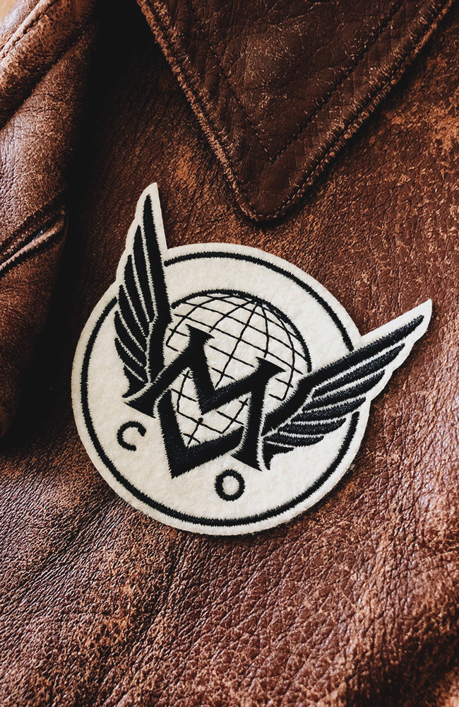 Maiden Voyage Co.™ Logo Patch - Ivory Wings