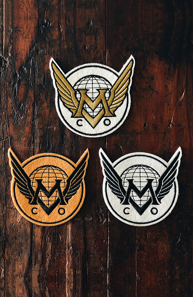 Maiden Voyage Co.™ Logo Patch - Gold Wings
