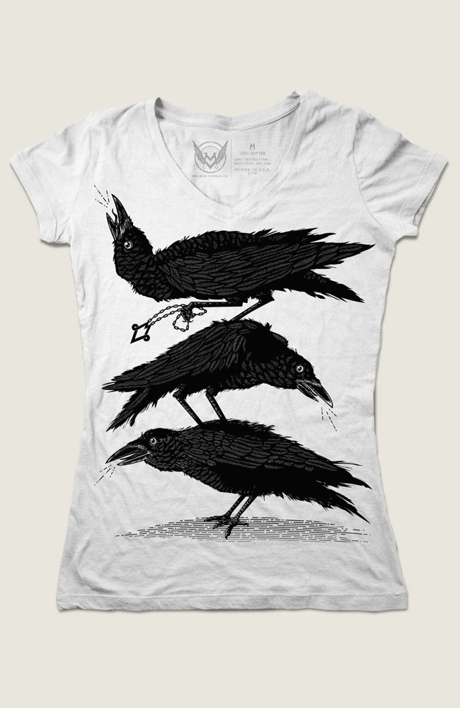 Limited Edition Council of Crows Womens V-Neck Tee