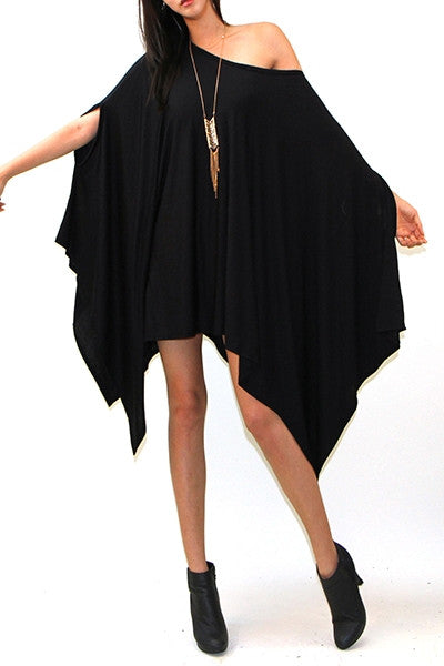 Oversized Puncho Top
