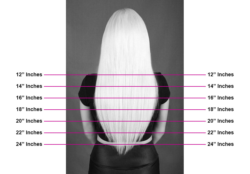 Hair Extension Length Guide | Infinitude Extension Bar
