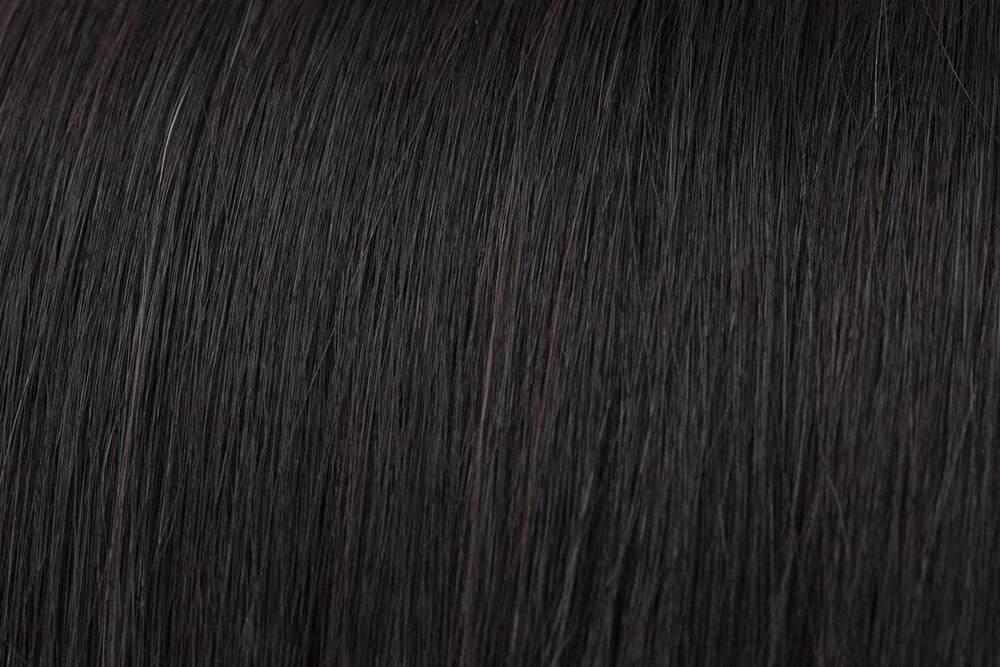 Stock Wigs: Natural Black #1B