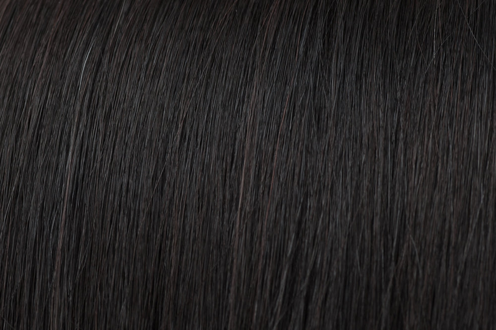 Invisible Tape Extensions: Natural Black #1B