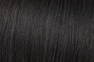 Clip In Extensions: Natural Black #1B