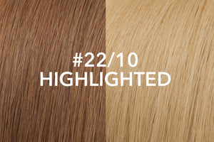 Halo Hair Extension: Highlighted #22/#10