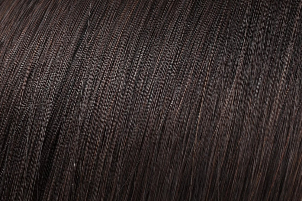 Hair Wefts: Darkest Brown #2