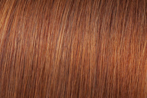 Clip In Extensions: Light Copper #30