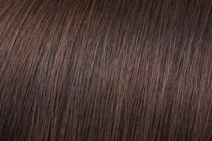 Clip In Extensions: Chocolate Brown #3