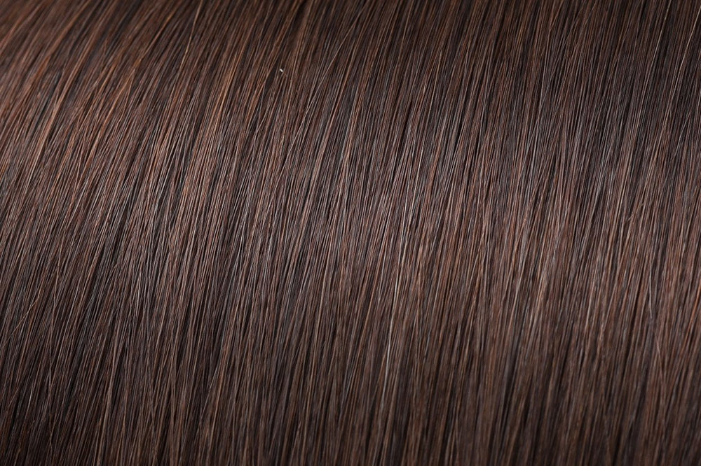 I Tip Extensions: Chocolate Brown #3
