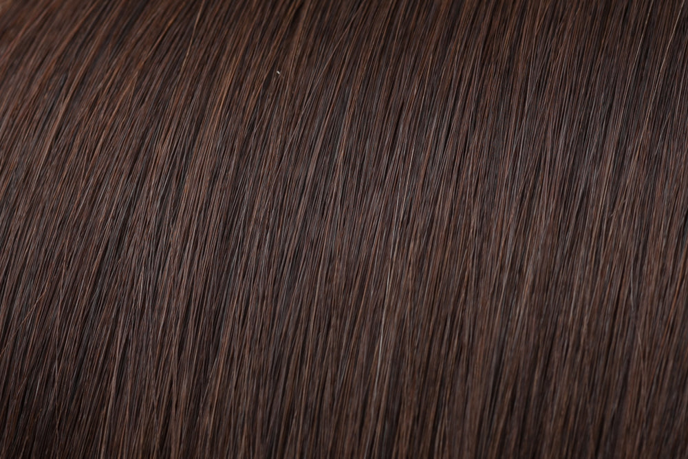 Hair Wefts: Chocolate Brown #3
