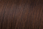 Clip In Bang: Medium Brown #4