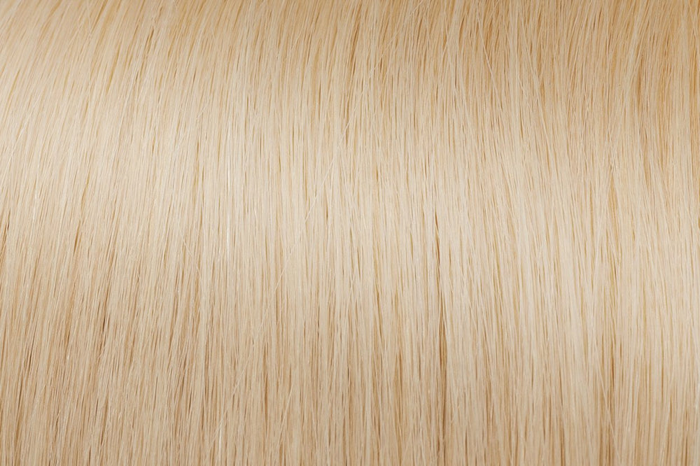 Hair Wefts: Ash Lightest Blonde #60