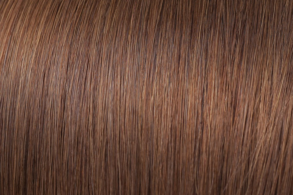 I Tip Extensions: Light Brown #6