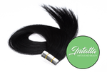 Tape In Extensions: Natural Virgin Remy Hair