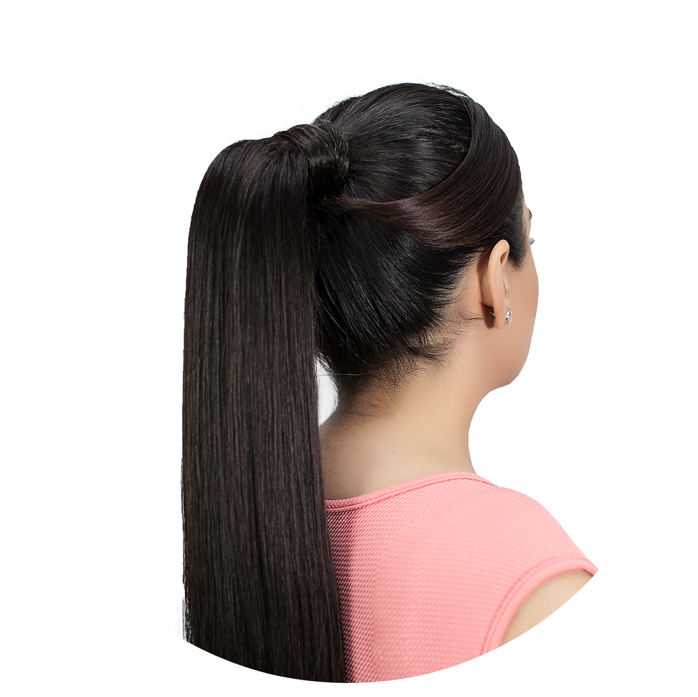 Ponytail Extension: Medium Golden Blonde #24