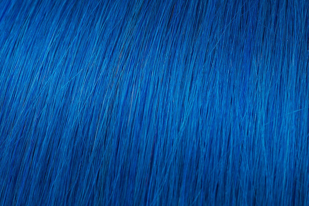 Clip In Extensions: Blue