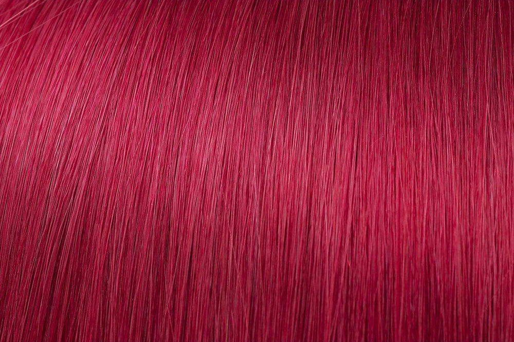 Clip In Extensions: Burgundy