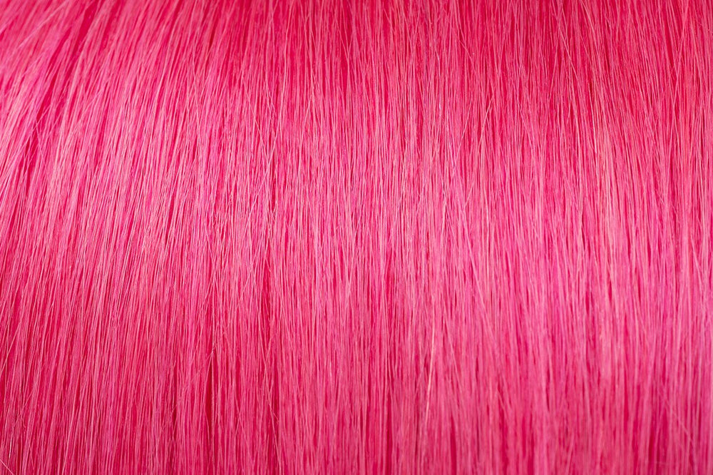 Tape In Extensions: Fuscia