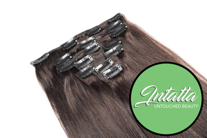 Clip In Extensions: Intatta Natural Virgin Remy Hair