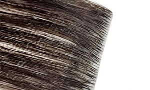 Invisible Tape Hair Extensions: Chocolate Brown #3