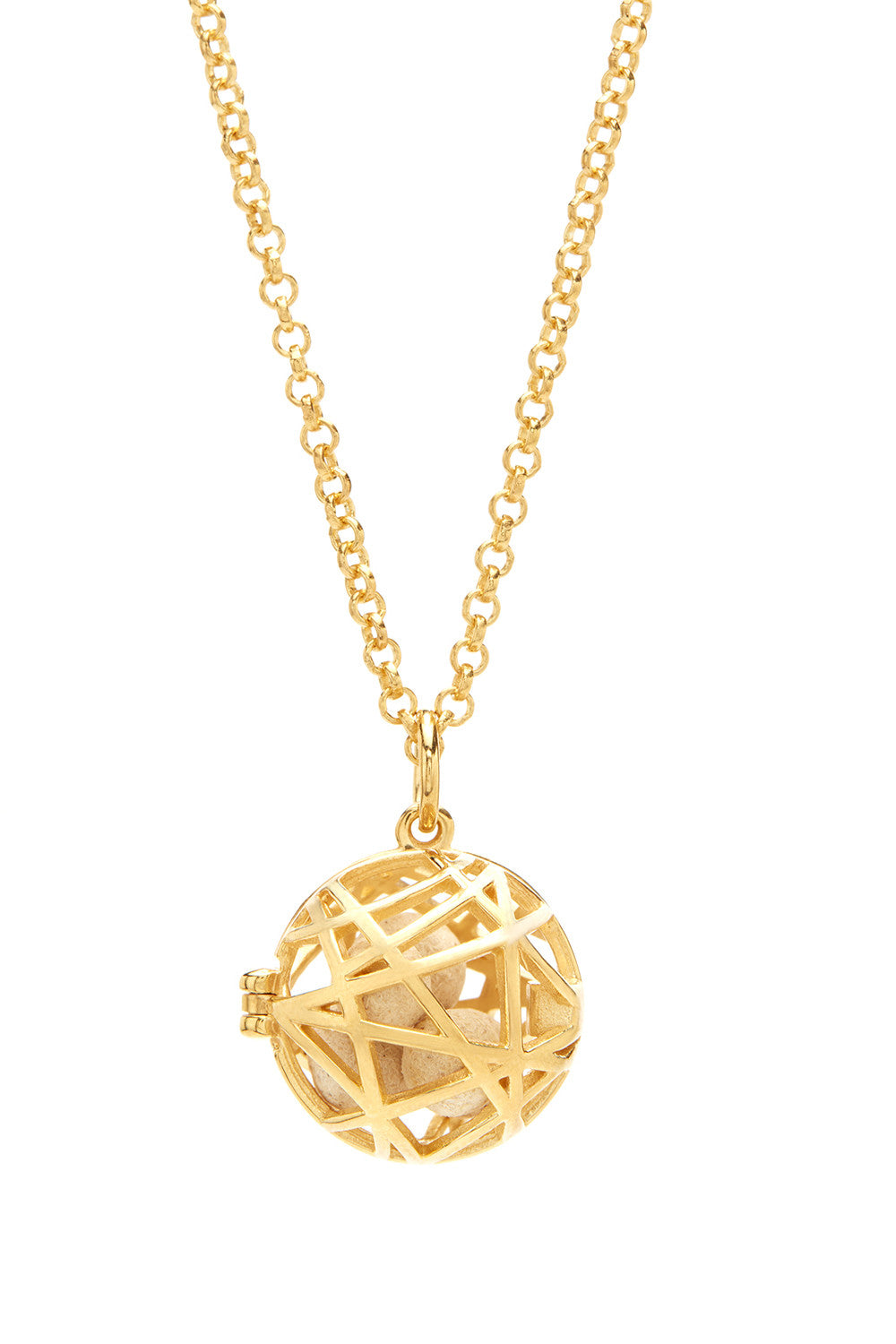 Nest Necklace - Gold